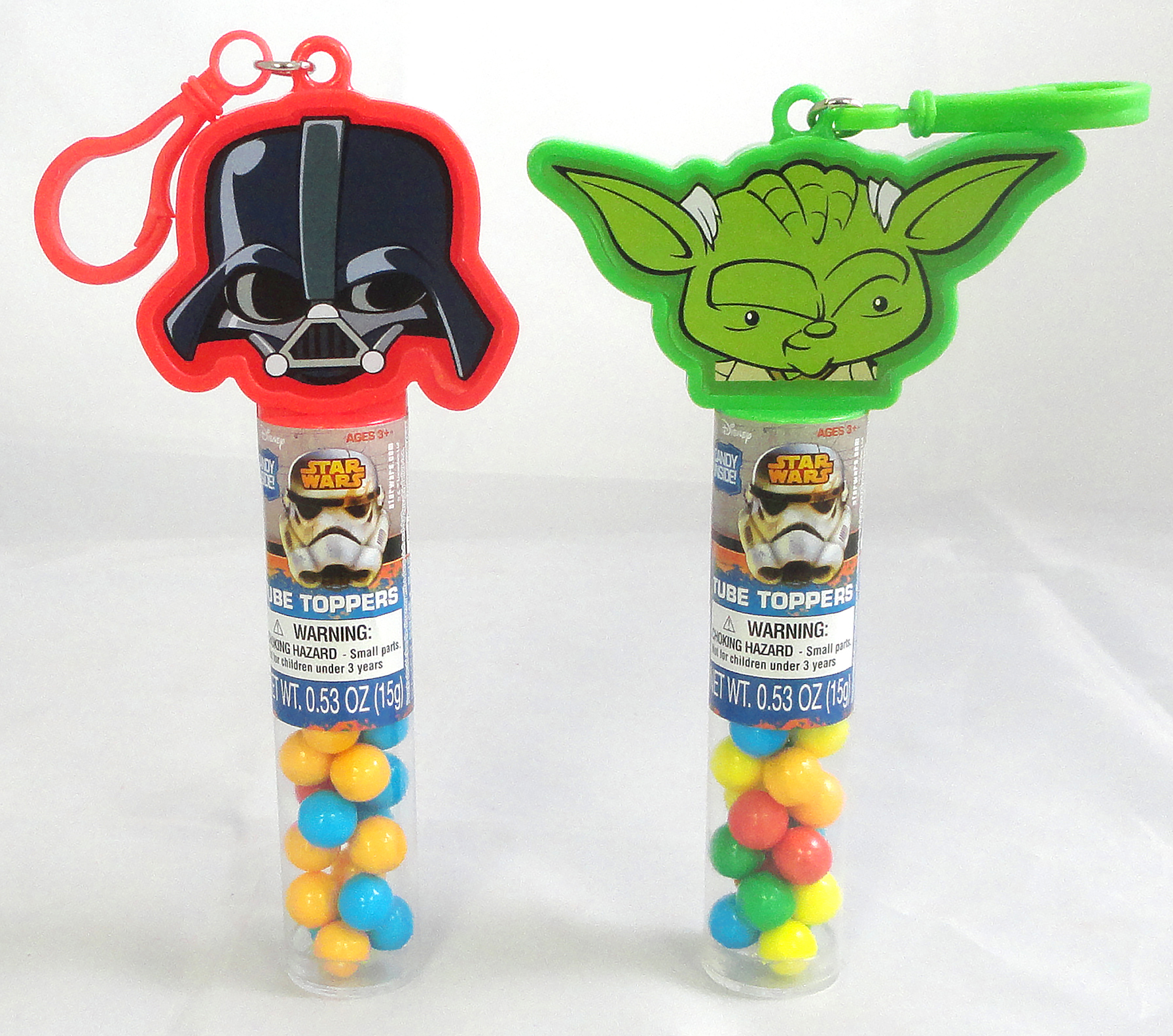 Star Wars Tube Toppers Units