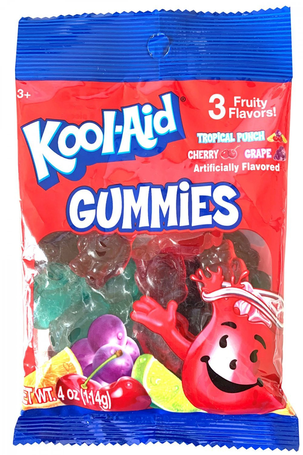 Kool-Aid Kool-Aid Gummy Peg Bag 4oz.