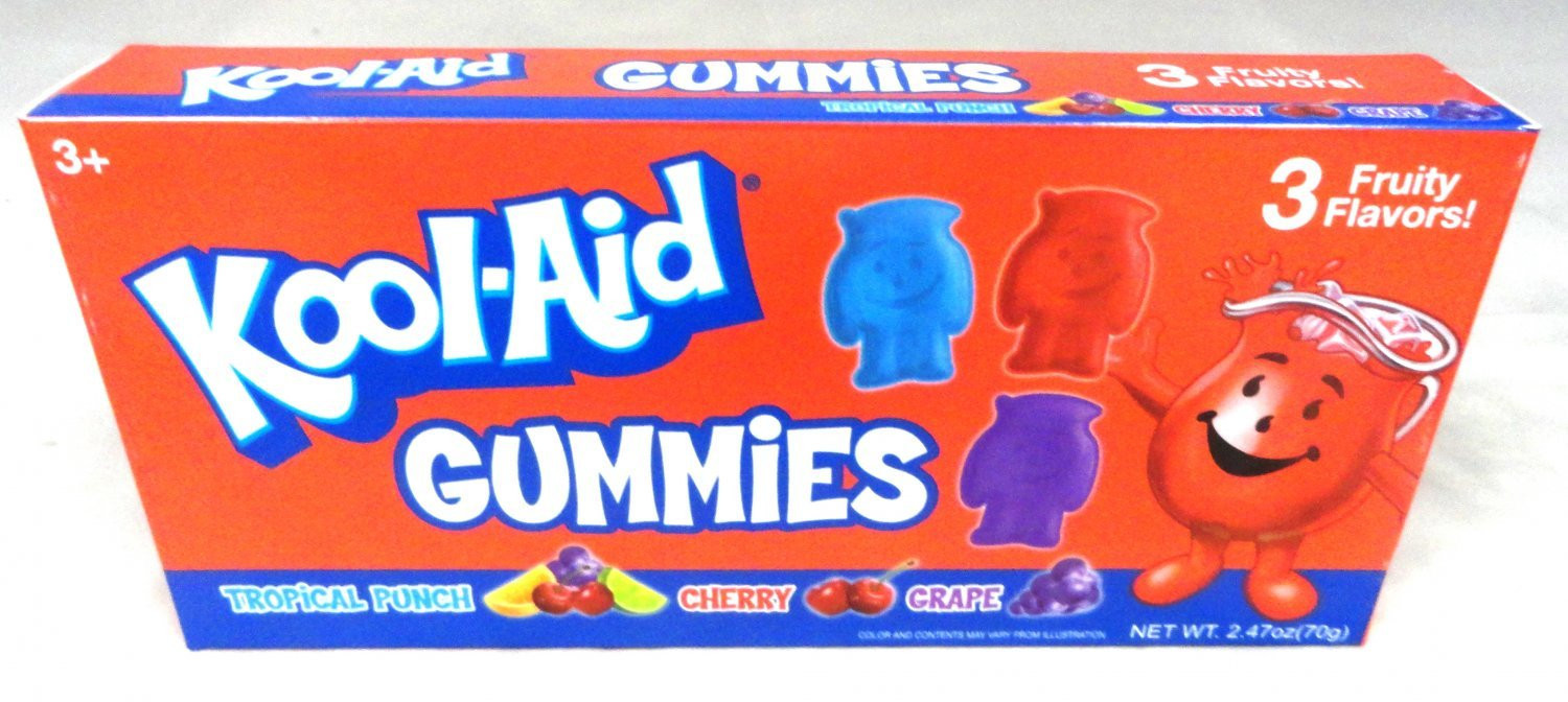 Kool-Aid Kool-Aid Character-Shaped Gummy Theater Box