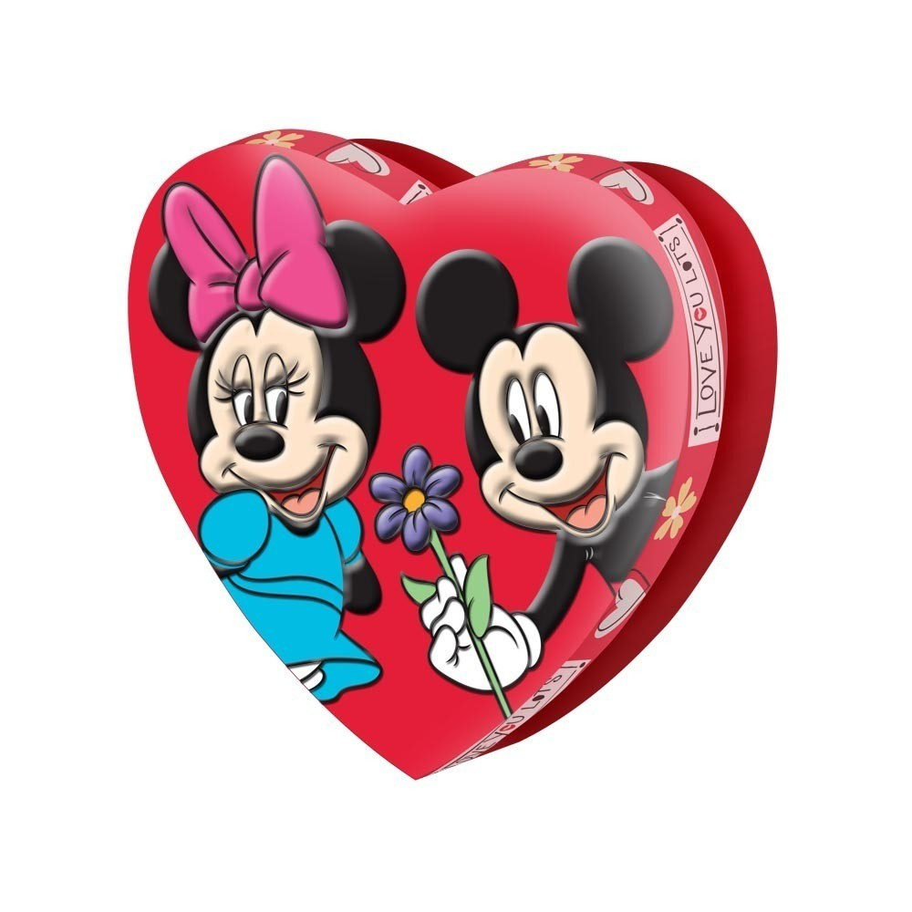 Disney Disney Assorted Large Foam Heart Box with Taffy - Finding Dory, Frozen, & Mickey