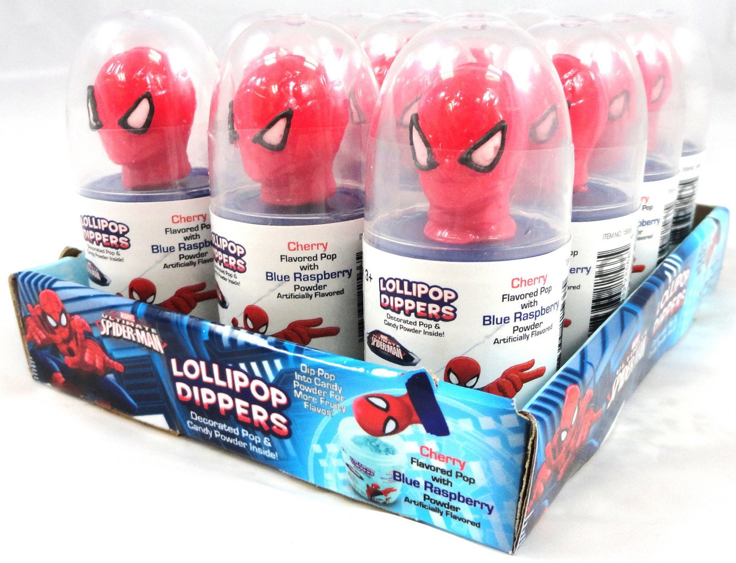 Marvel  Marvel Spider-Man Lollipop Dippers