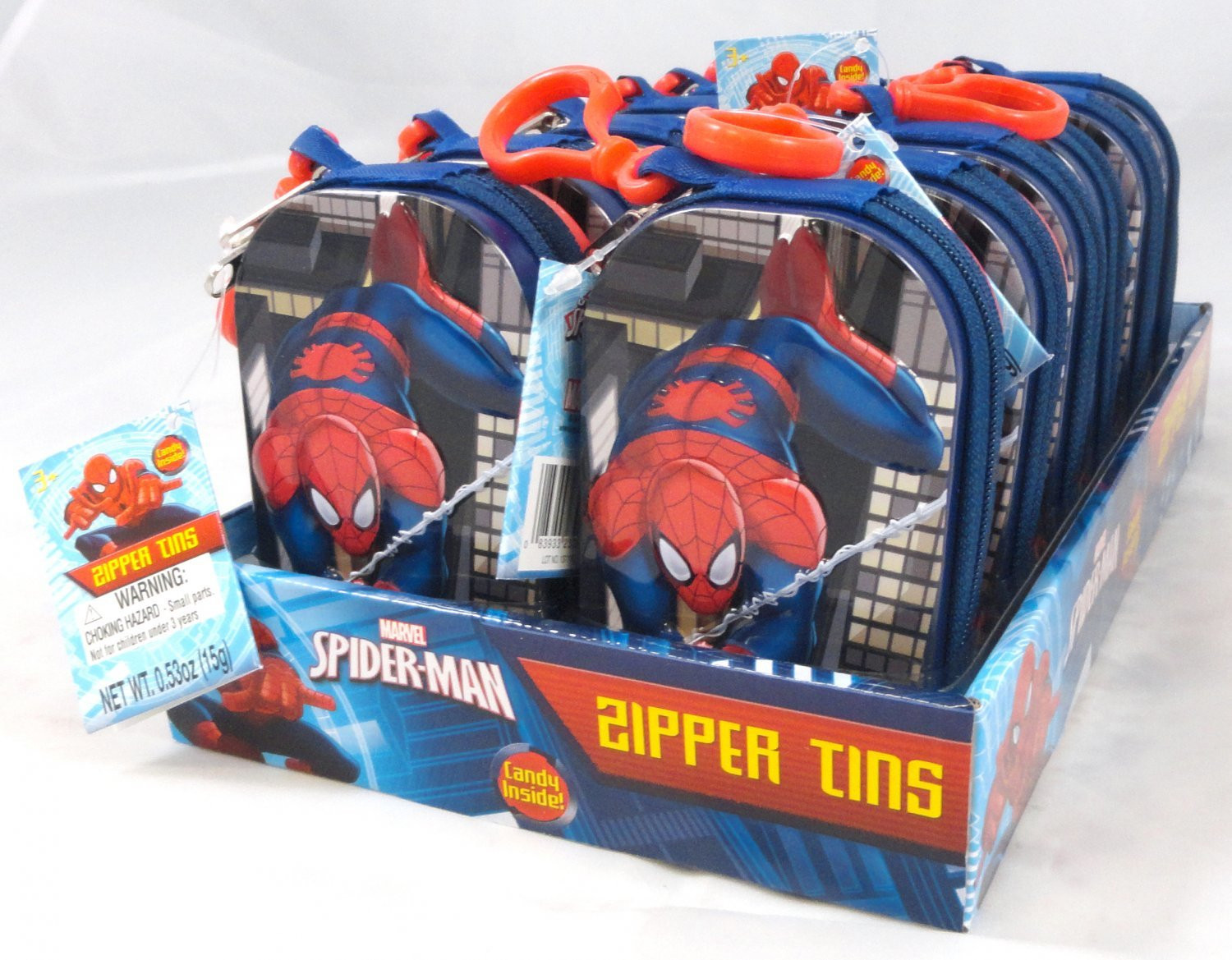 Marvel  Marvel Spider-Man Zipper Tin
