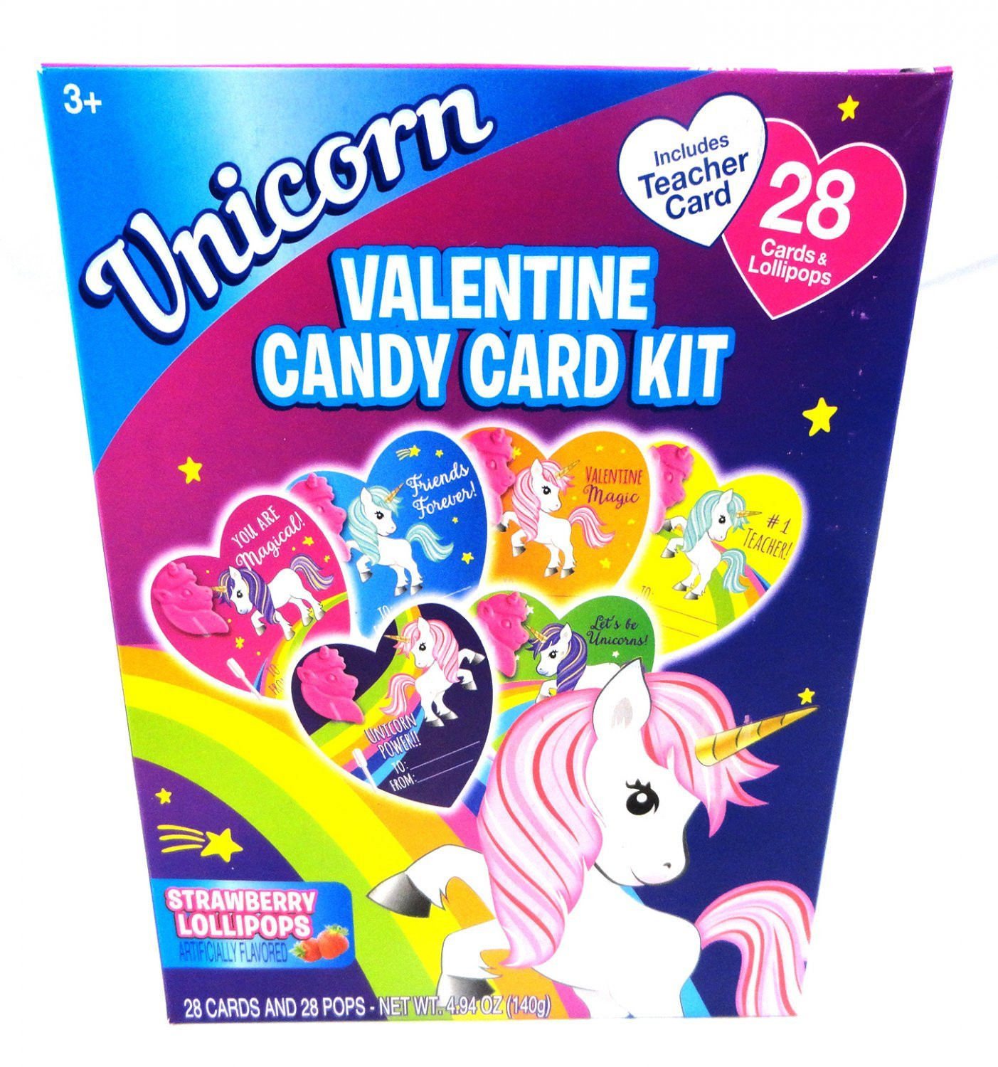 Hilco Unicorn 28Ct. Lollipop & Card Kit