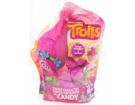Dreamworks Trolls Trolls 22ct. Character Egg Hunt Gusset Bag