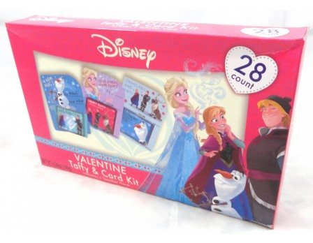 Disney Frozen Valentine 28Ct. Card & Taffy Kit