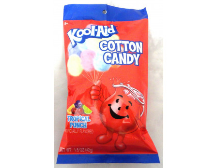 Kool-Aid Cotton Candy Peg Bag