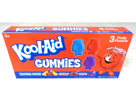 Kool-Aid Character-Shaped Gummy Theater Box