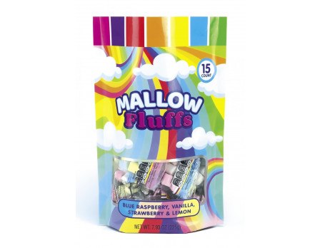 Rainbow Mallows 15ct. Gusset Bag