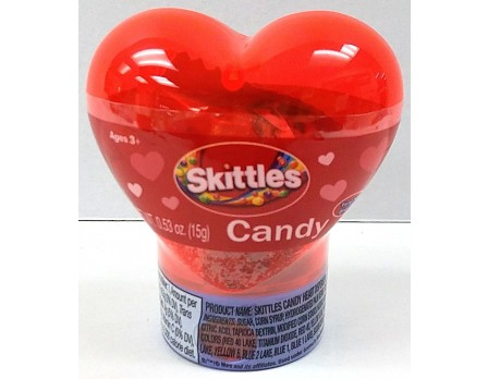 Skittles Skittles Candy Heart Dispenser