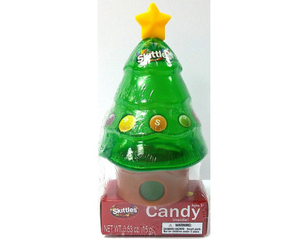Skittles Skittles Christmas Tree Dispenser