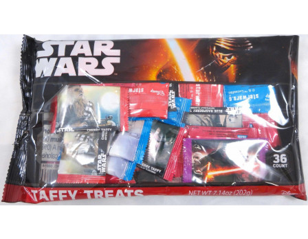 Star Wars Episode 7 36ct. Taffy Laydown Bag