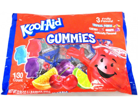 Kool-Aid Kool-Aid 130ct. Gummy Laydown Bag
